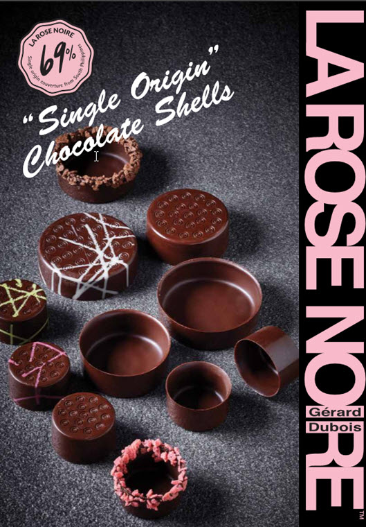 single origin chocolate shells